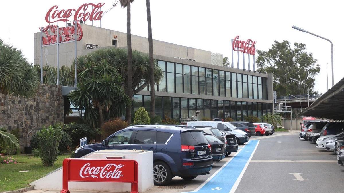 La planta de Coca-Cola en Málaga.