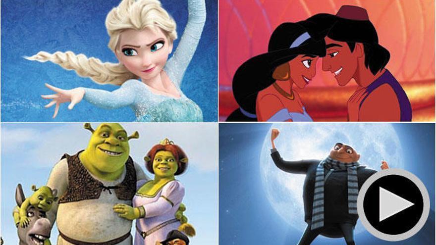 Diez divertidas bromas para mayores en películas de niños