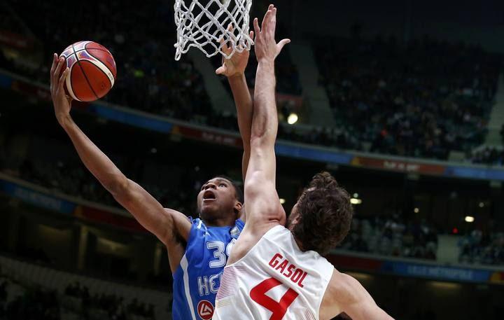 Eurobasket 2015: España - Grecia