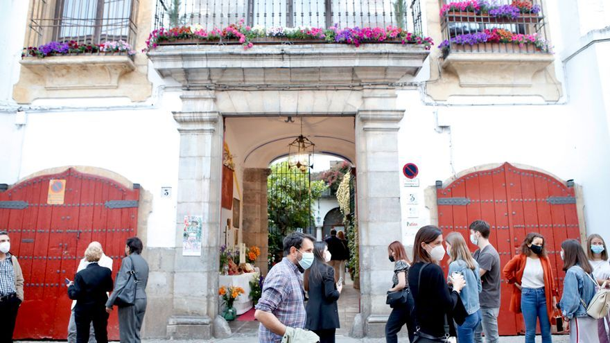 Patio de la calle La Palma
