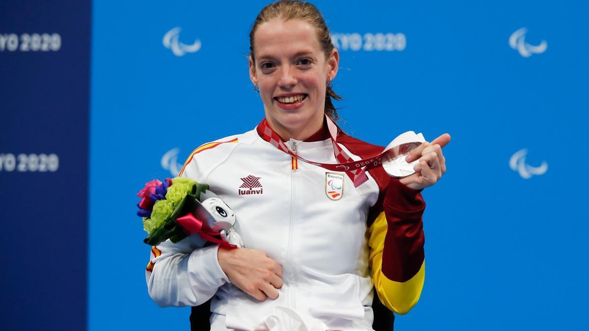 La nadadora española Marta Fernández.