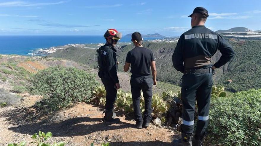 Los militares centran la búsqueda de Juana Ramos en un pozo abandonado