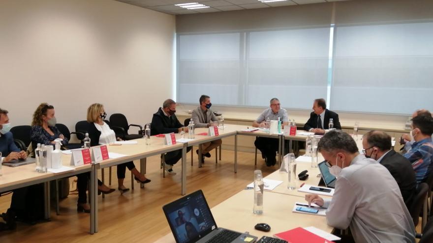 Martí Masferrer, director de la FSE, assisteix a la reunió del Cercle Euram de l'Empordà