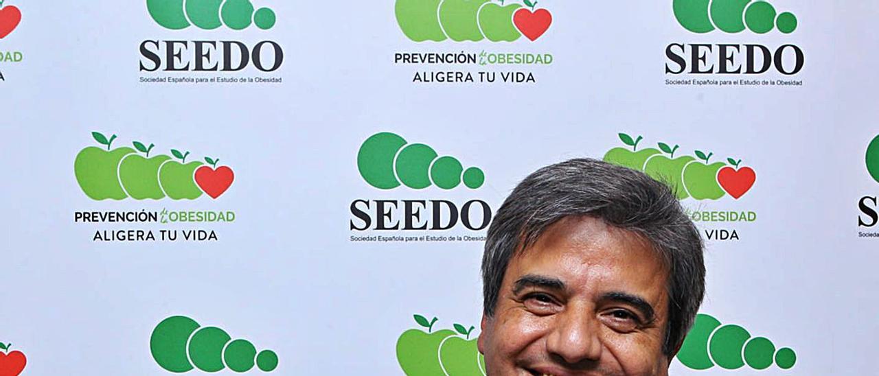 Francisco Tinahones, presidente de la Sociedad Españla para el Estudio de la Obesidad.