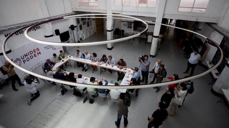Los socios del Botànic aparcan la estructura del nuevo Consell y avanzan solo en el programa