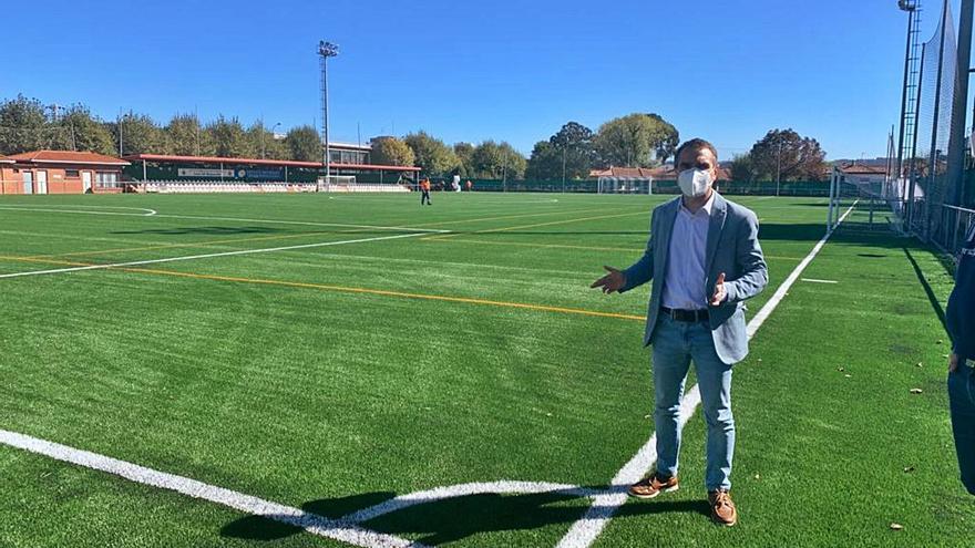 El Club Deportivo Los Campos vuelve a entrenar en La Marzaniella