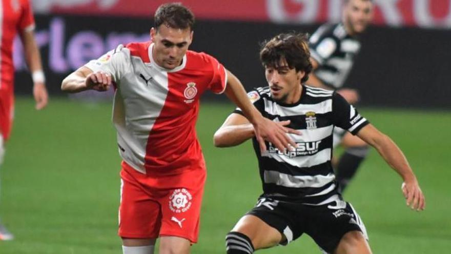 El FC Cartagena cae en Girona en un partido con dos expulsados
