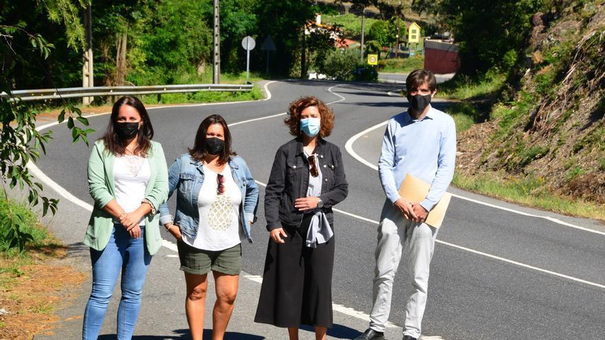 El PSOE lleva al Parlamento la exigencia de una senda peatonal hasta el Mirador da Fraga