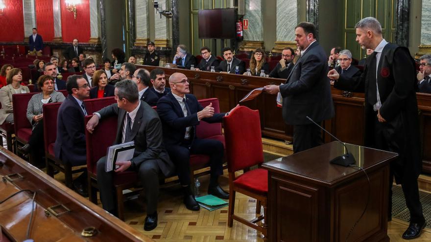 El Supremo da cinco días para alegaciones sobre indultos a los presos independentistas