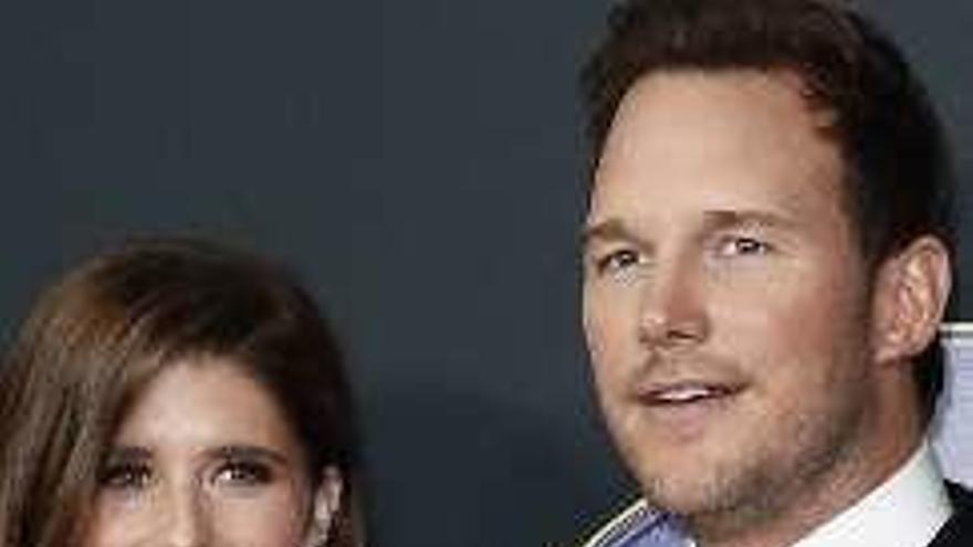 """El """"guardián de la Galaxia"""" Chris Pratt se casa con la hija de """"Terminator"""""""