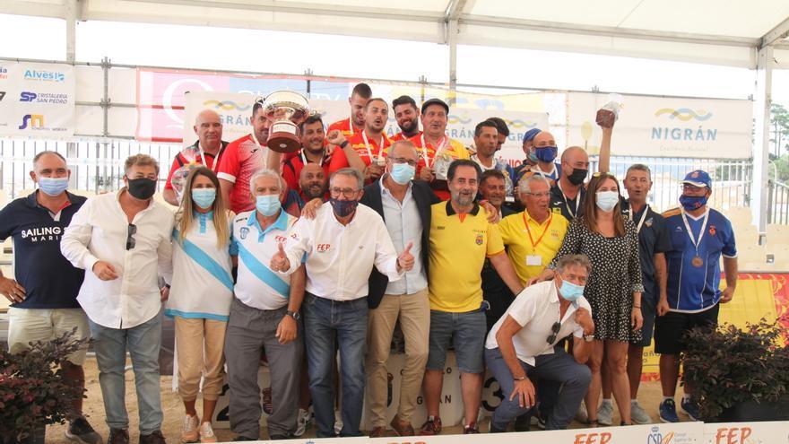 O Club de Petanca Prat, campeón de España en Nigrán