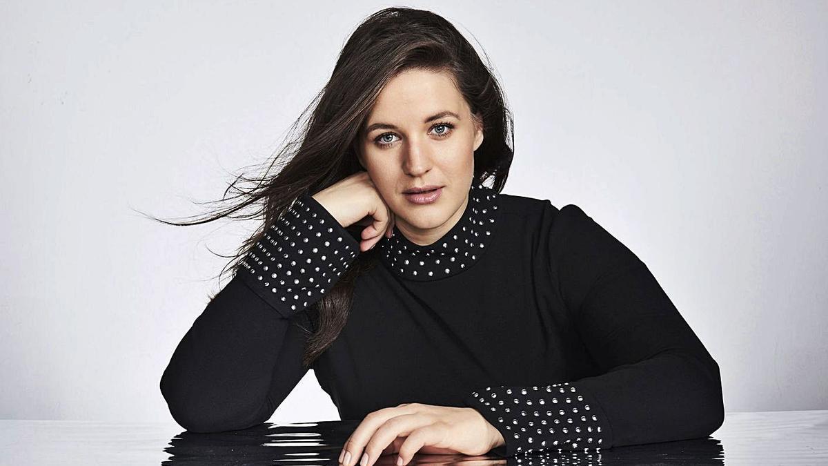 La soprano de Noruega Lise Davidsen. | LEVANTE-EMV