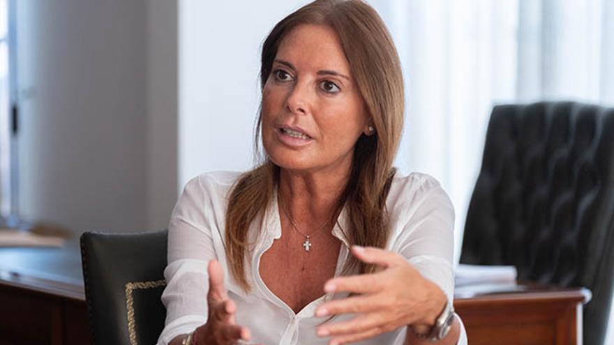 La alcaldesa Pilar González critica a Anselmo Pestana por su falta de colaboración