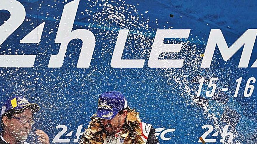 Rubens Barrichello será el compañeros de Alonso