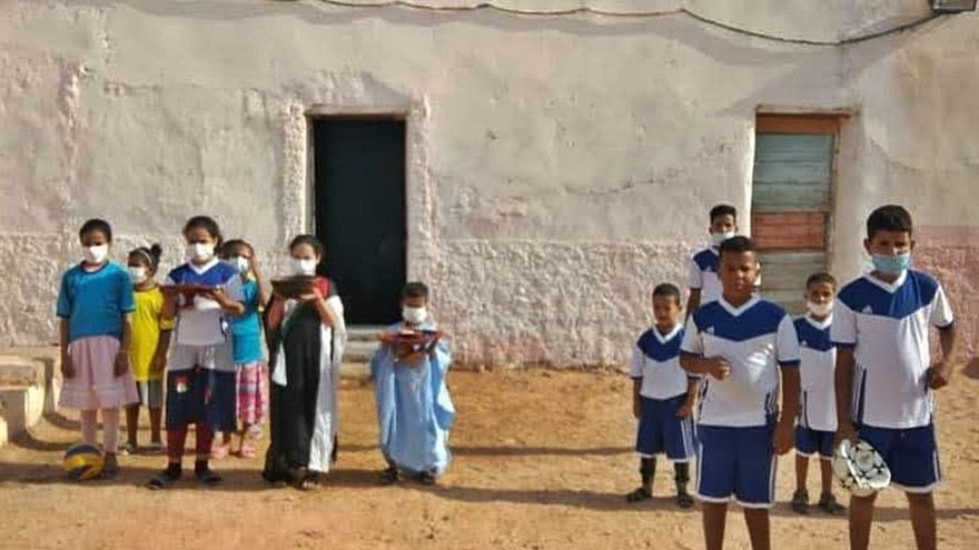 Dos años sin vacaciones  de los niños saharauis con familias de acogida en las islas
