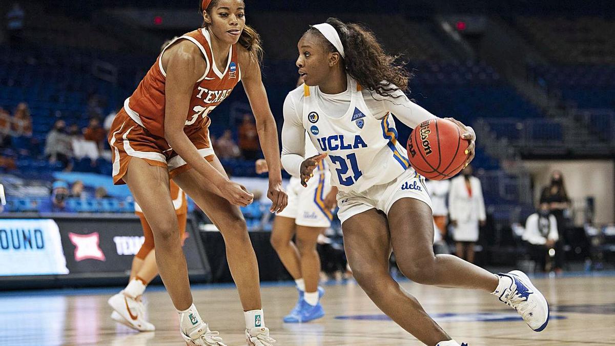 La nova jugadora de l'Uni, durant la seva etapa de formació a la UCLA