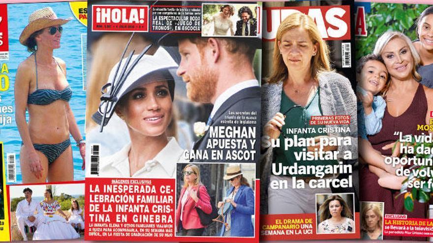 La Infanta Cristina tiene un plan para ver a Urdangarín en la cárcel