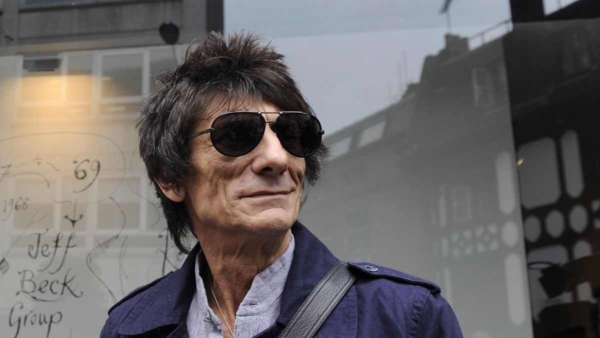 El músico Ronnie Wood