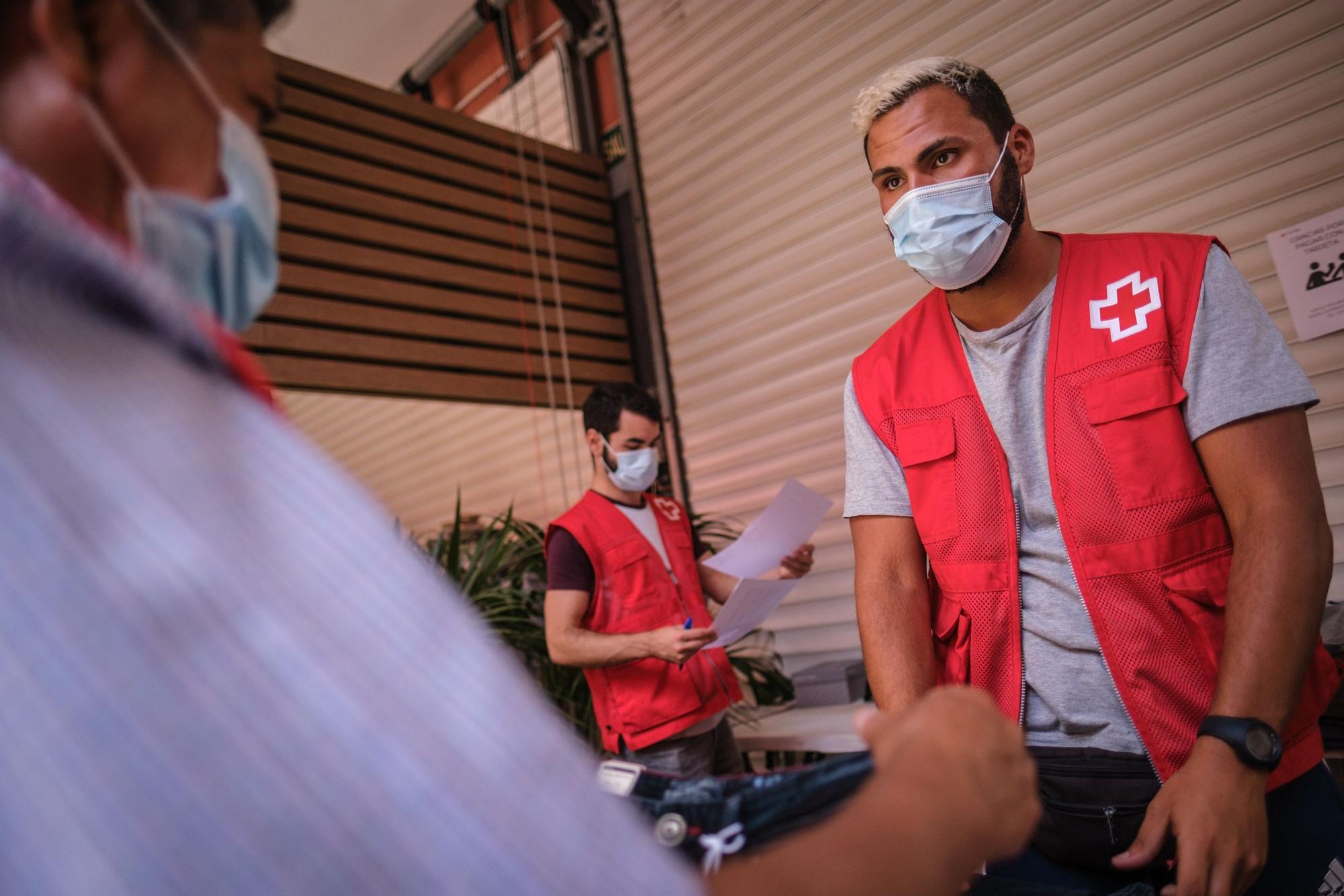 Rastrillo de Cruz Roja en Santa Cruz de Tenerife