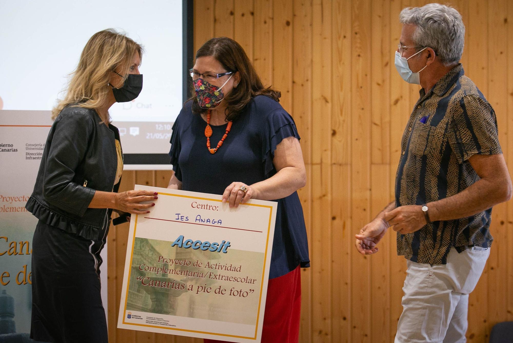 Educación entrega los premios de la iniciativa educativa