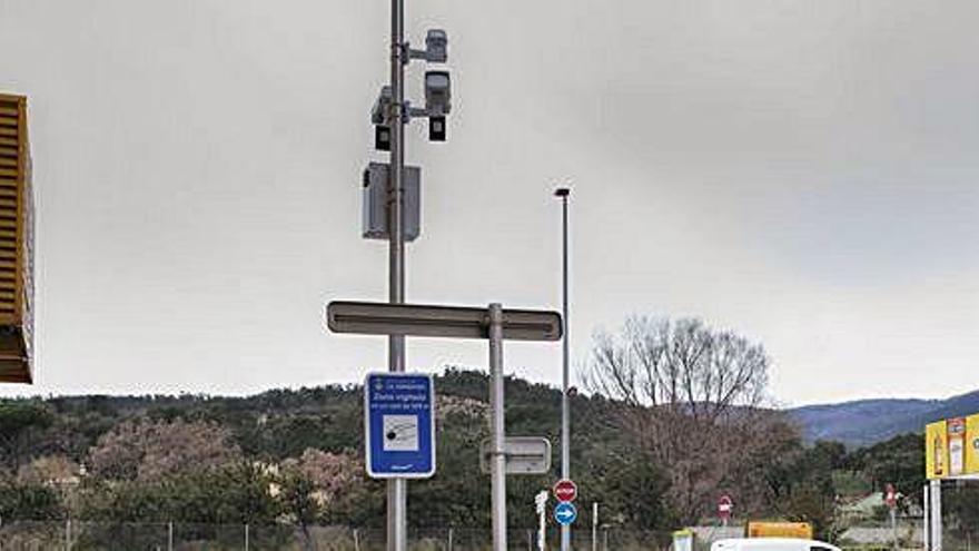 Interior ha autoritzat en els últims tres anys 215 càmeres de vigilància  en 17 municipis gironins