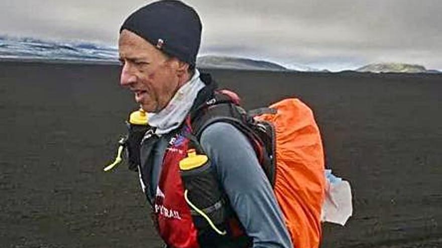 Juanjo Larrotcha, segundo en la Volcano UltraMarathon en Islandia