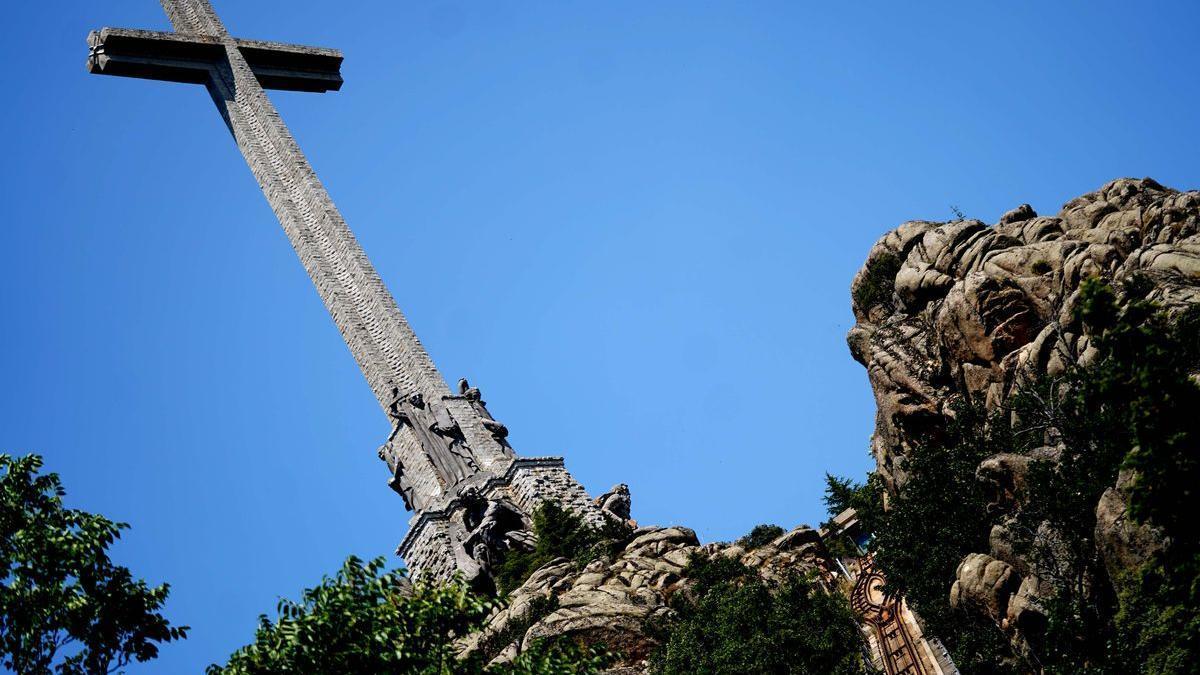 Frontal de la Basílica del Valle de los Caídos