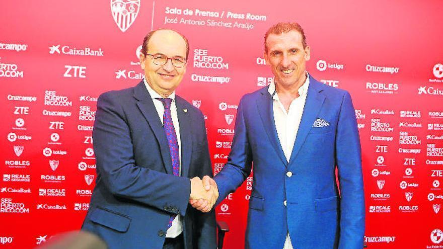 Arias, de director deportivo de la UD a sustituto de Monchi