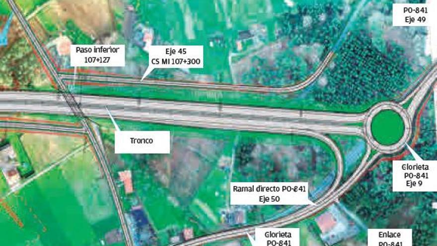 La ACE, Teo y Vedra piden que la prolongación de la autovía incluya un enlace en Pontevea