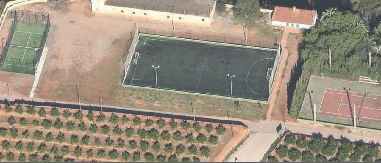 Algar renovará el césped artificial de su campo de fútbol por algo más de 64.000 euros