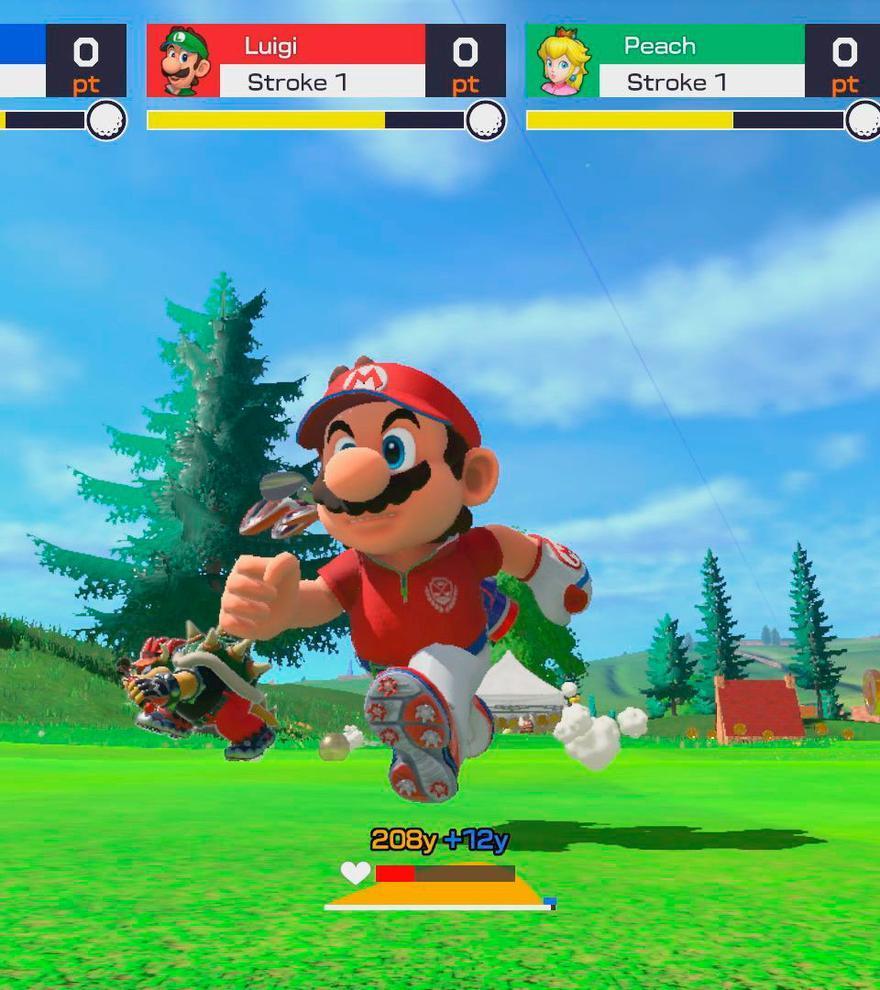 Lista de personajes, un nuevo modo y tráiler de Super Mario Golf: Super Rush