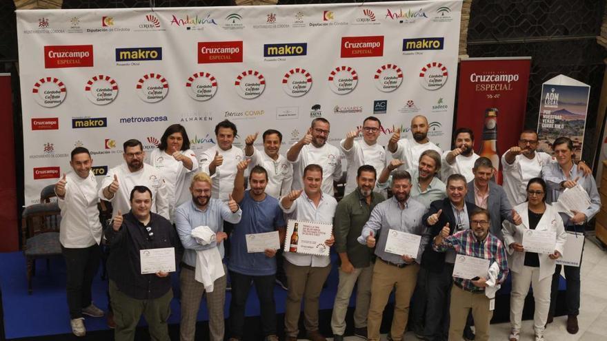 El Córdoba Califato Gourmet premia la innovación de las tapas cordobesas