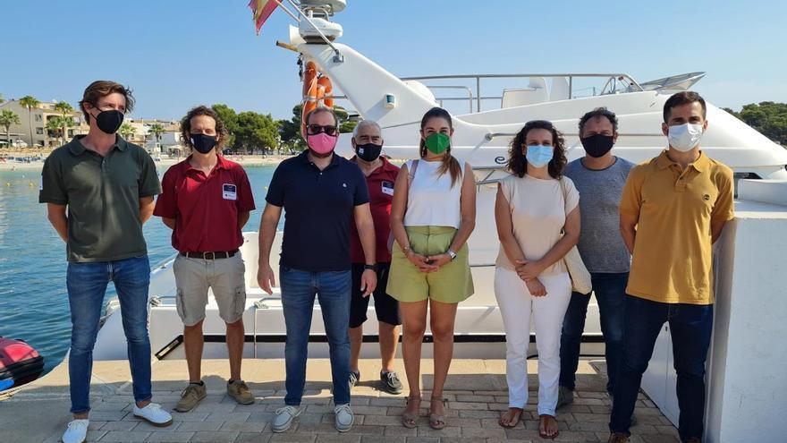 El servicio balear de vigilancia de la posidonia, modelo para el de Valencia