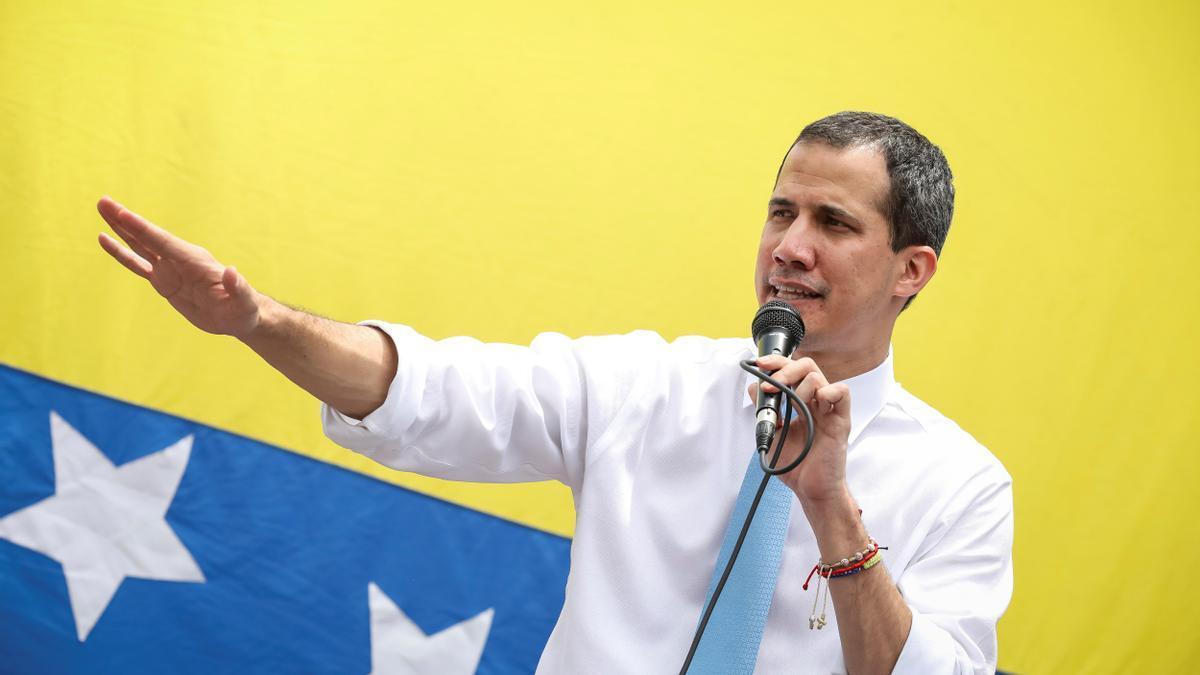 El líder de la oposición venezolana, Juan Guaidó