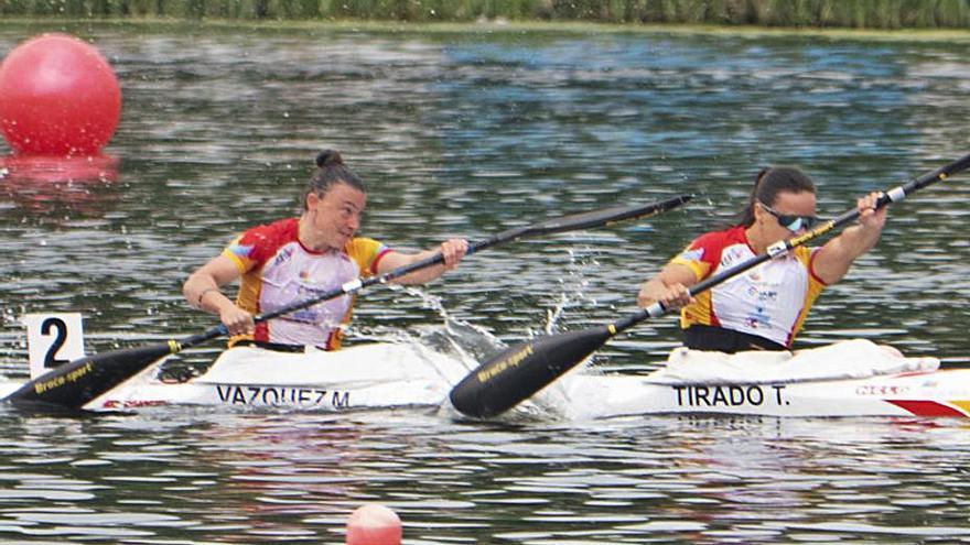 Piragüismo | Las zamoranas Eva Barrios y Mirella Vázquez, lejos del podio en la última jornada del Europeo
