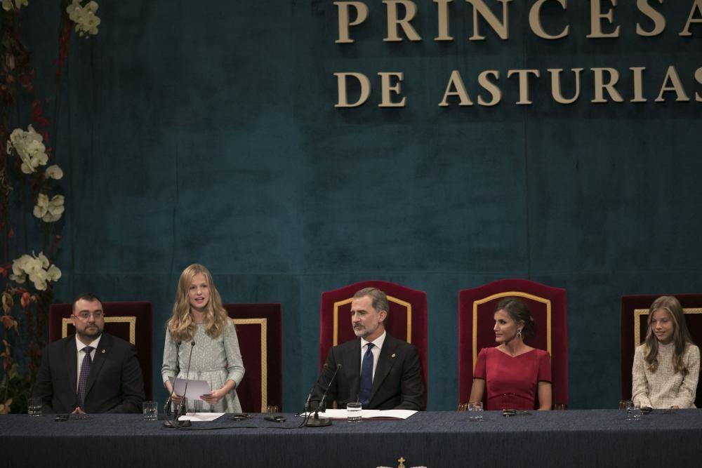 Ceremonia de entrega de los Premios Princesa