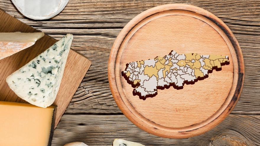 Asturias es un gran queso: consulta la guía de las 329 variedades de la región