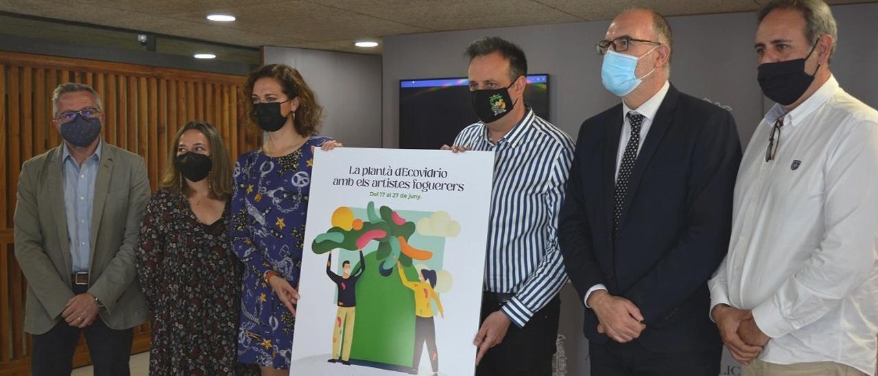 Presentación de la iniciativa, esta mañana en el Ayuntamiento de Alicante