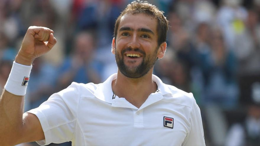 Marin Cilic, primer finalista de Wimbledon