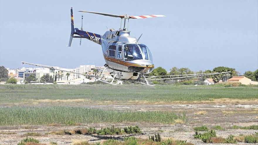 Los alcaldes urgen ya tratamientos aéreos ante la plaga de mosquitos