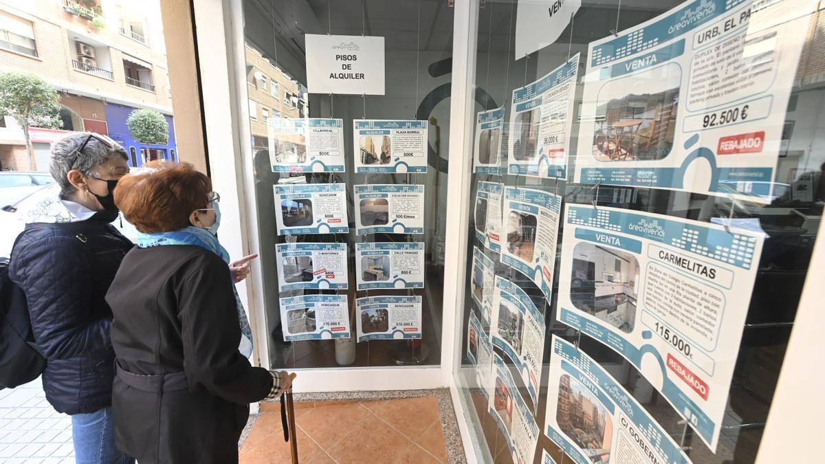 Oficina inmobiliaria Área Vivendi en la capital Castelló.