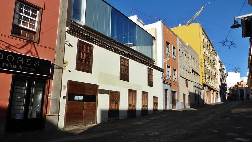La sede de Bienestar Social, en la céntrica calle Herradores. | | E.D.