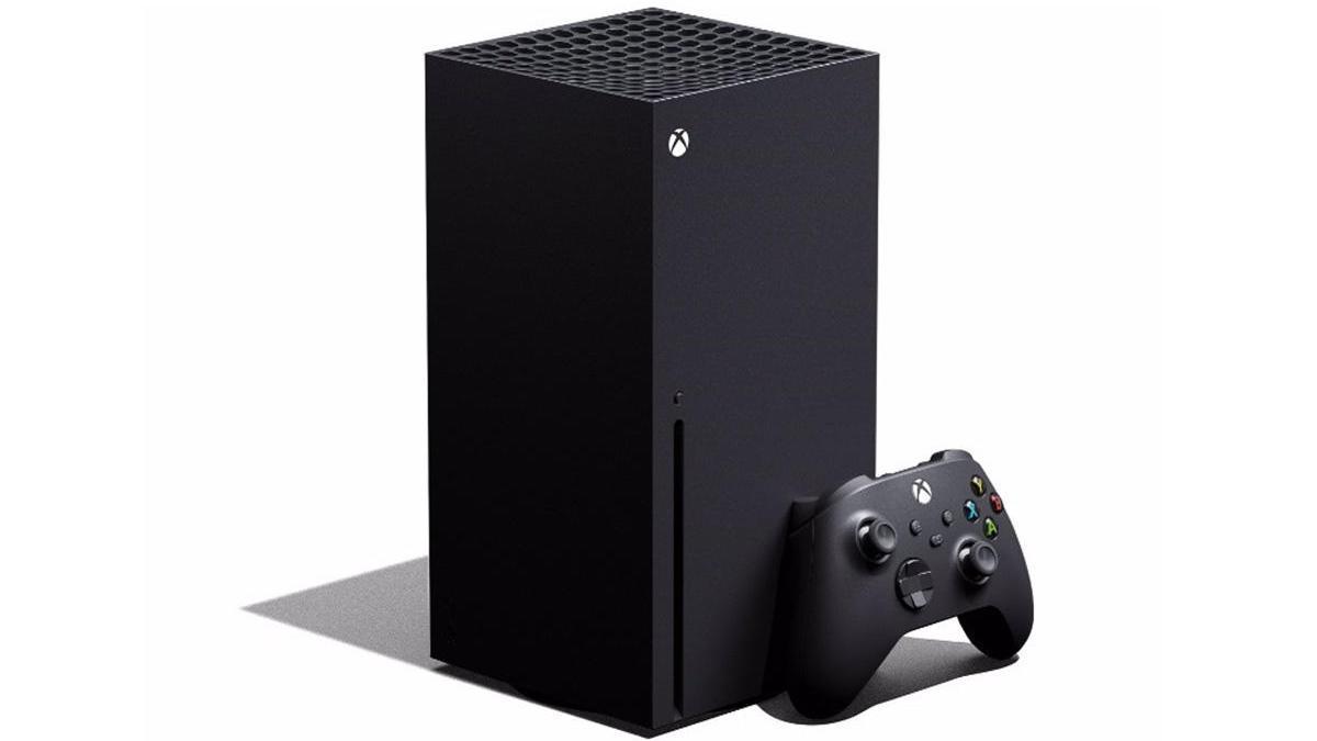 La nueva Xbox Series X.