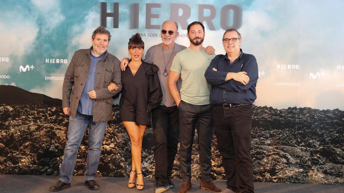 El elenco de 'Hierro'.