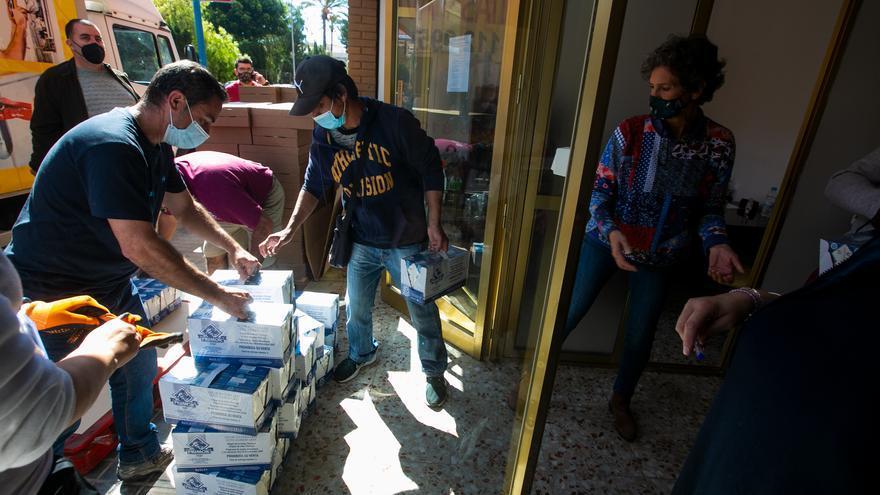 Compromís exige la apertura inmediata del Pedro Goitia para el reparto de alimentos en la Zona Norte