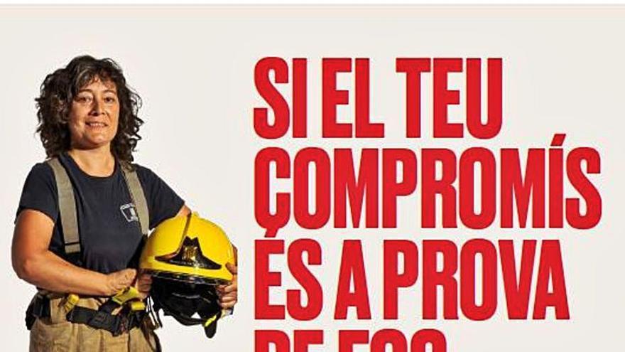 Rècord de dones inscrites per ser bomberes a Catalunya, amb 64 de Girona