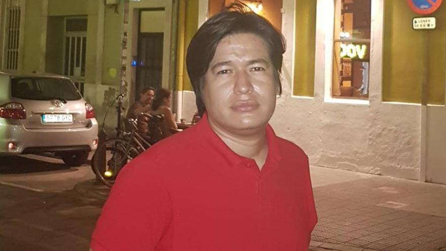 """Fidel Ernesto Narváez: """"Buscaremos el apoyo de València contra la represión de Daniel Ortega"""""""