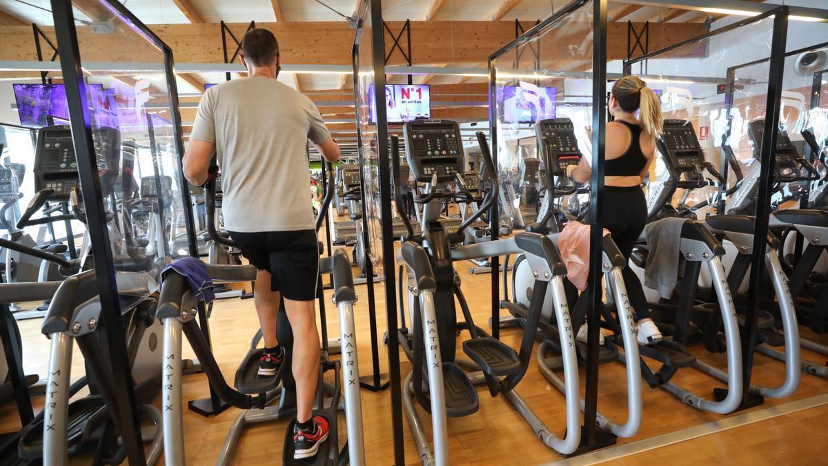 Restricciones en gimnasios y centros deportivos de la Comunidad Valenciana.