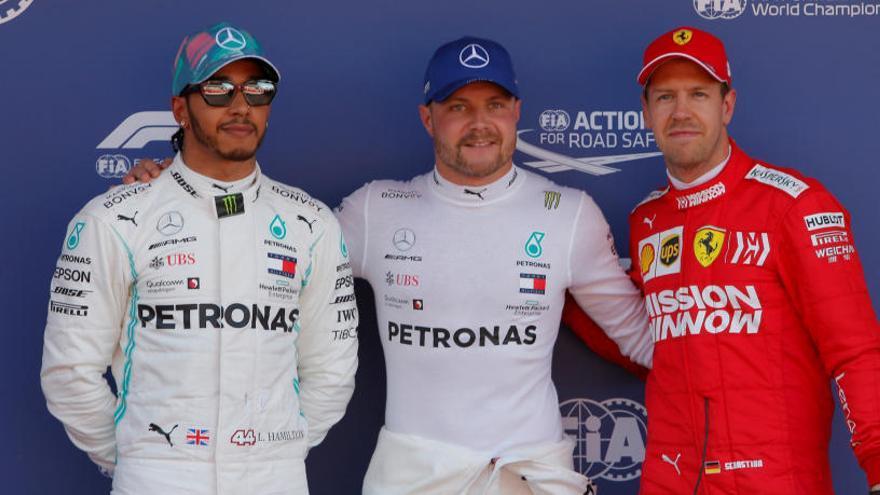 Bottas le gana la partida a Hamilton en su lucha por la 'pole' en Montmeló