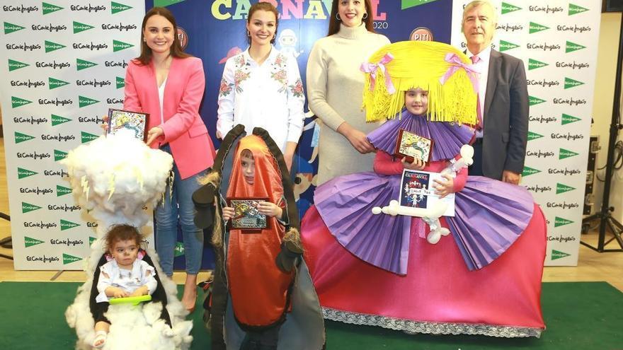 El Corte Inglés celebra su XXX concurso infantil de disfraces por la celebración del Carnaval